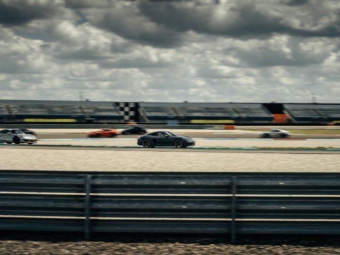 Paddock Porsche in Assen
